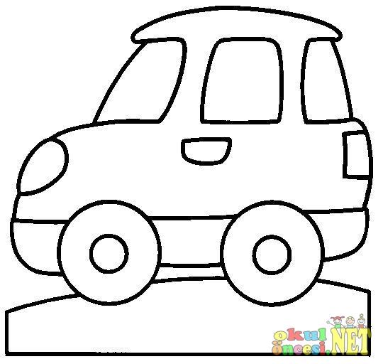 Araba Boyamaları Okul öncesi Okul öncesi Etkinlikleri Ana Okulu